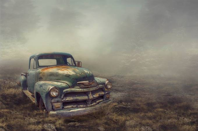 The old car by Elebrusco - We Love Cars Photo Contest