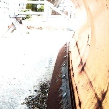 Plowed Over My Rusty Friend?