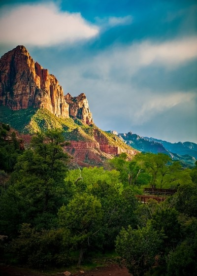 Zion In late Spring
