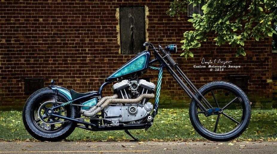 Steel Roots Garage Custom Bike