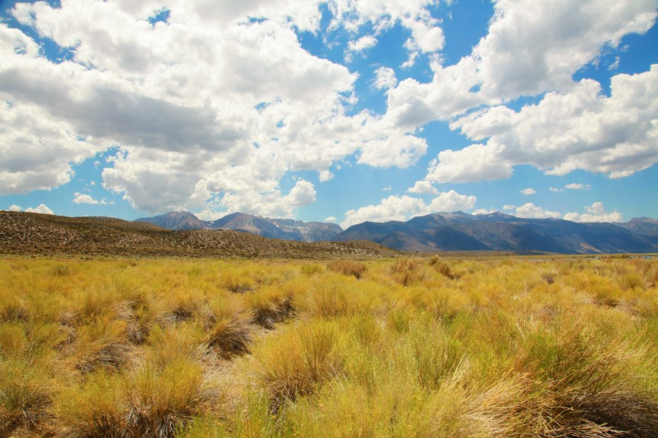 Sierra Nevada Mountain Range, God's Country