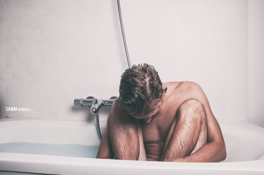 Taking A Bath is Not Easy