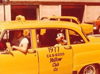 Mickey Takes A Cab