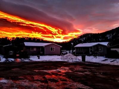 An intense Sunrise.