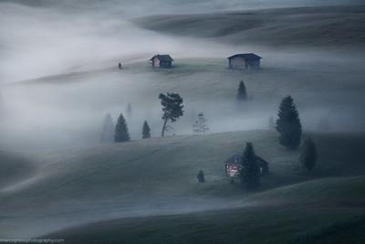 Mist & cabins