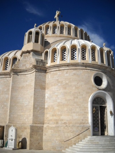 Church of Saints Constantine and Helena. Athens. Greece
