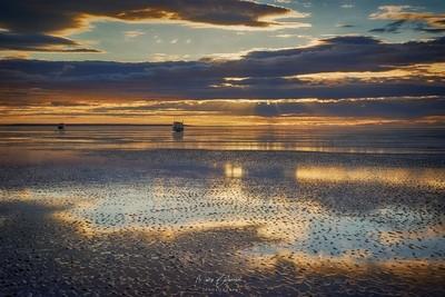 Scenic Dawn at Lake Clark NP - Alaska