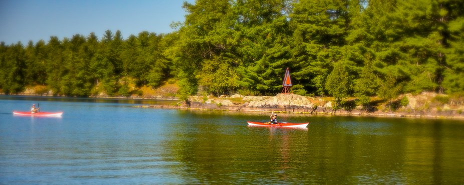 On an outing with the work crew, we took a delightful day down through the Rideau Lakes canal and...