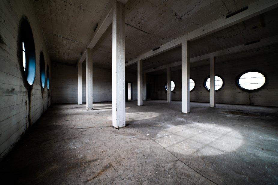 Abandoned HAKA building interior