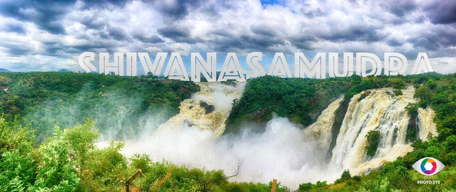 Shivanasamudra waterfalls is one of the wide waterfalls in India. This pic is captured in Gaganac...