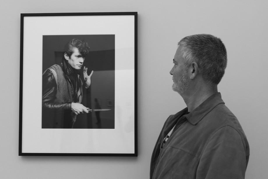 Apreciating Robert Mapplethorpe photo exibition in Oporto (Portugal)