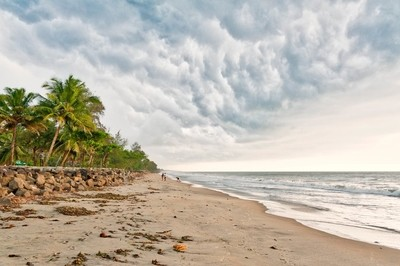 Clouds building up on Vypin Island