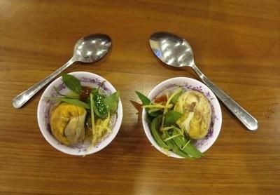 Vietnamese fermented duck eggs