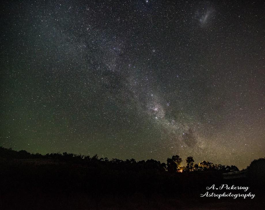 The Milky way over Bullsbrook Western Australia