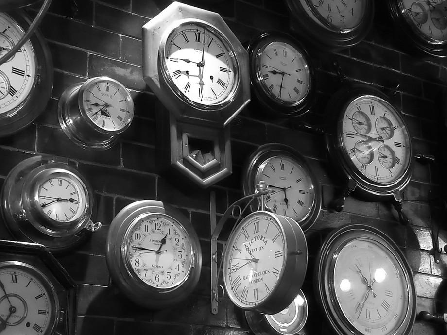 Wall clock assortment