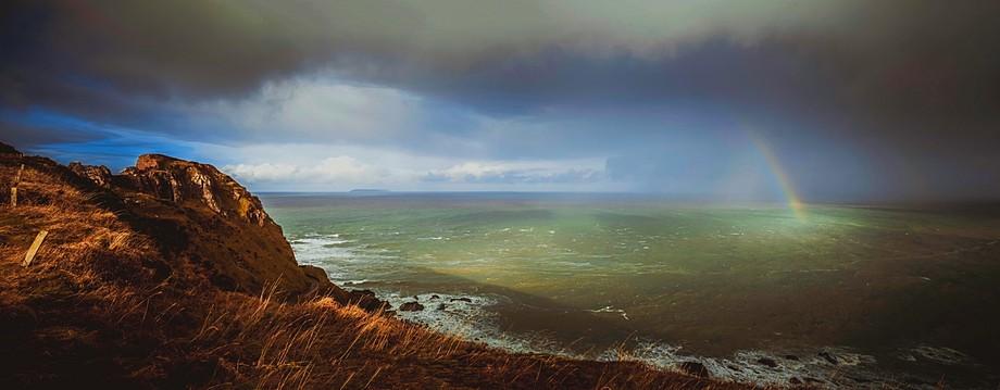Hartland point, North Devon. Pano