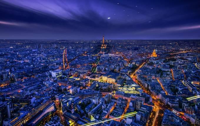 Light in the window by elenaivlieva - Bright City Lights Photo Contest