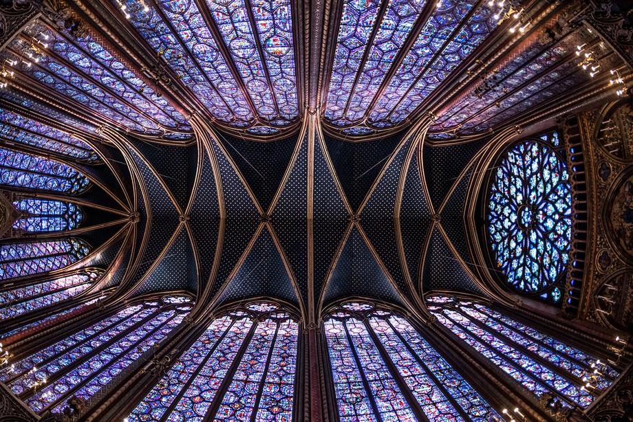 Sainte Chapelle Full Roof