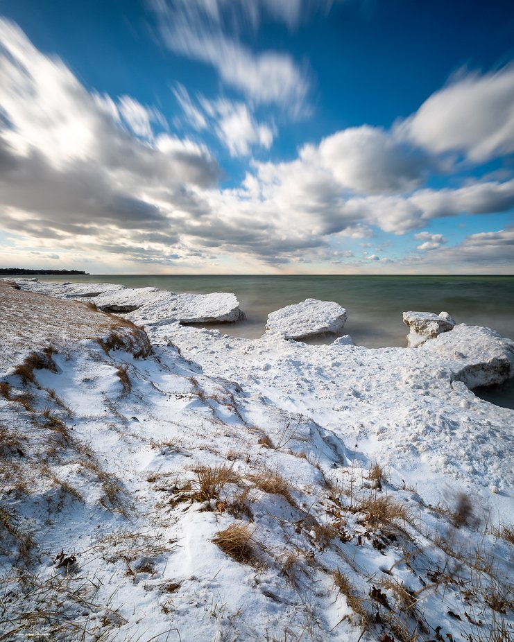 Clouds, Snow & Ice by jamesjohnston_3471 - Wind In Nature Photo Contest
