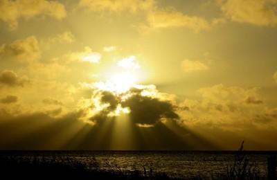 Powerful sunset.