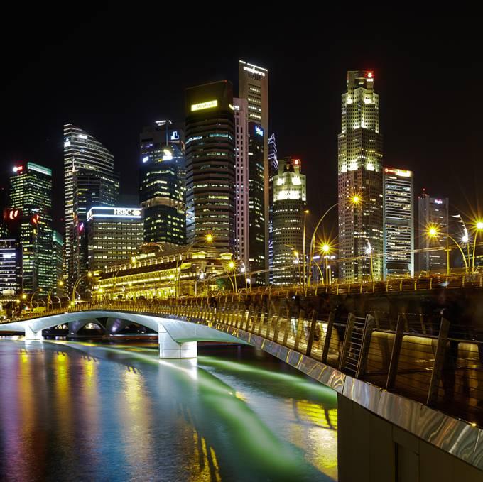 Fullerton Night Lights by stephenchin - Bright City Lights Photo Contest