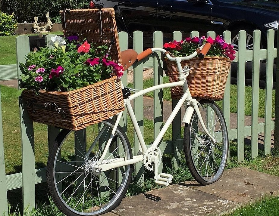 Lovely Bike in a Devon Village