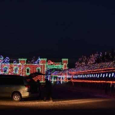 Bentleyville in Duluth, Mn. a Christmas festival of lights!
