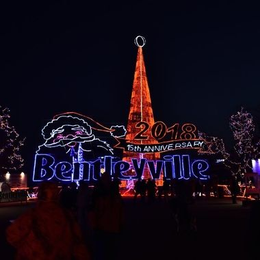 Bentleyville is one of the largest display of Christmas lights in the area