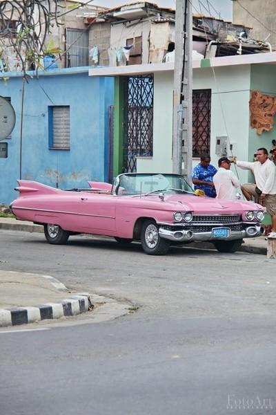 Cuba Pink Cadillac - Street Life