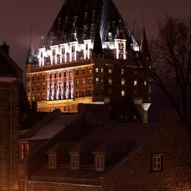 Chateau Frontenac, Old Quebec