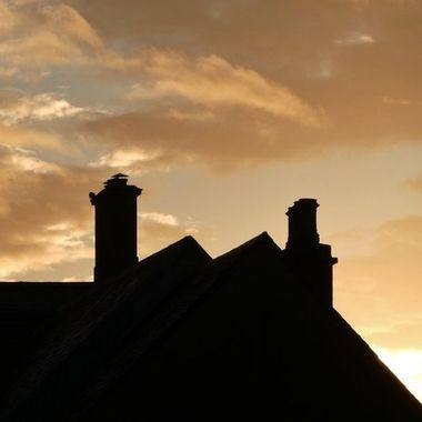 Chimney Pots all Intact on Xmas morning, yet again Santa has delivered with No damages. First Class Job ... :-) — at Anywhere and Everywhere ......