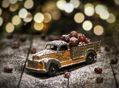Cranberry Sugar Snow
