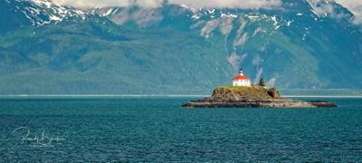 Eldridge Rock Lighthouse, Lynn Canal, Alaska