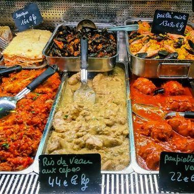 Food Glorious Food - Market Day - Les Halles, St Jean De Luz, France