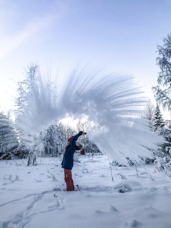 Hot vs. cold by iiqpo - We Love The Winter Photo Contest