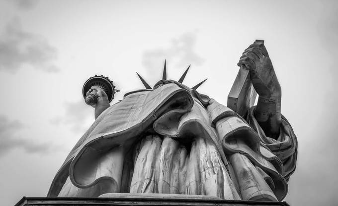 Liberty's Hands by sallygravener - New York Photo Contest