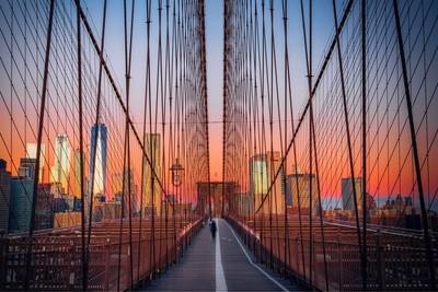 Brooklyn Bridge (morning stroll)