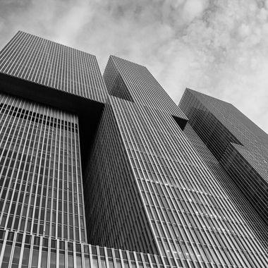 The Rotterdam, architect Rem Koolhaas, Rotterdam, Holland