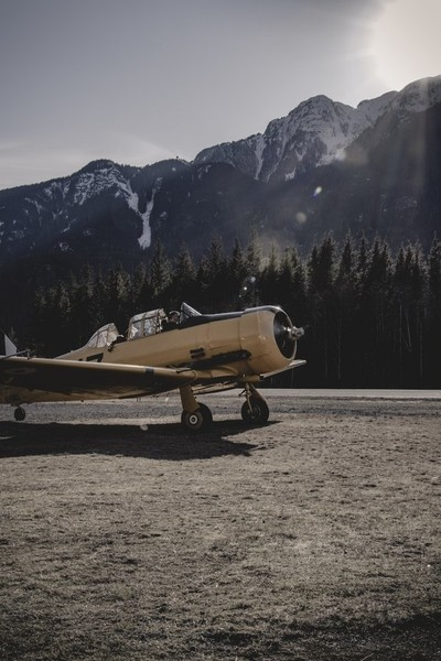 Harvard Airplane