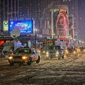 What would New York be in the winter without a blizzard--boring?