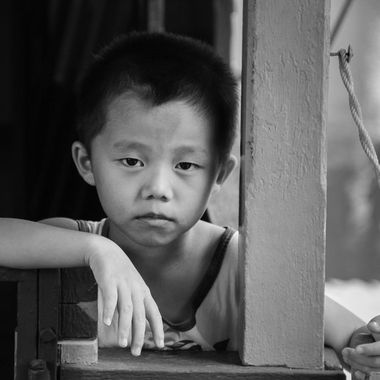 Boy in Bintan, Indonesia