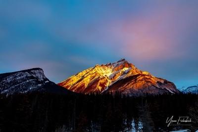 Sunrise at Banff