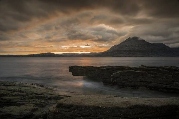 Taken after the storm in Elgol, Isle of Skye, Scotland.