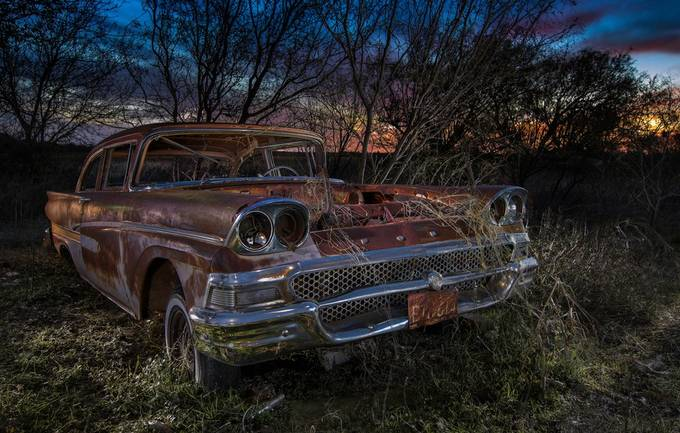 Sunset Fairlane by jamesnelms - We Love Cars Photo Contest