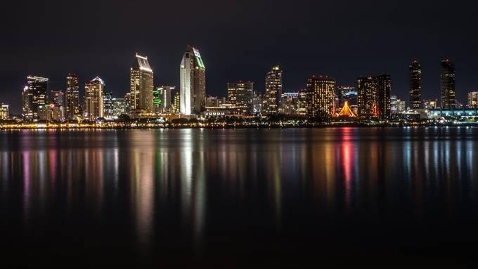 Color Spectrum by KaPh214 - Bright City Lights Photo Contest