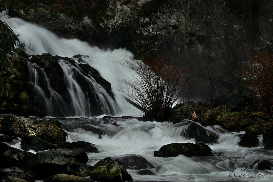 Water Falls of the Nantahala River System