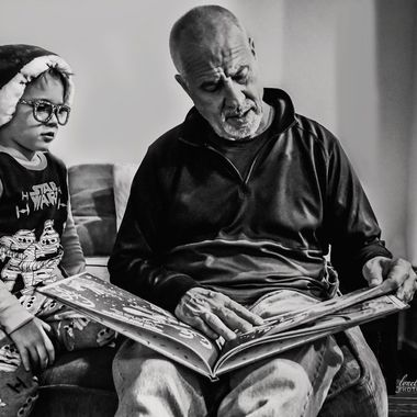 Reading with Papaw