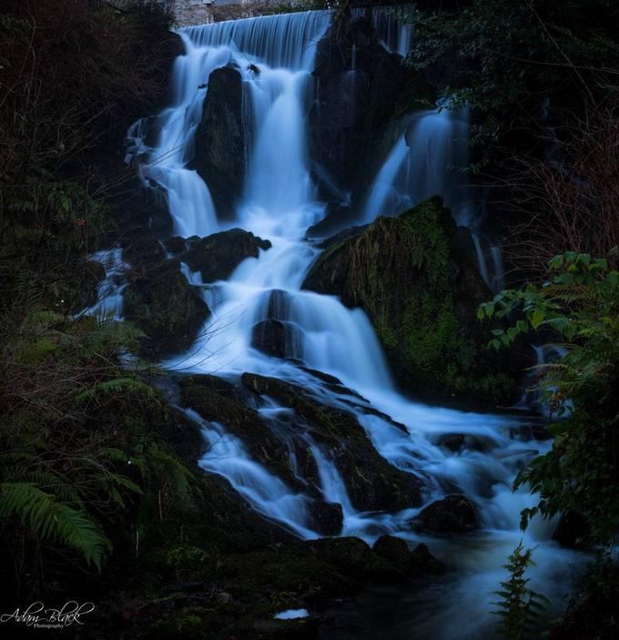 top waterfall Crawfordsburn Forest Park