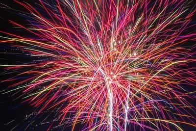 Fireworks Glow