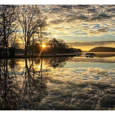 Lake Tillery Sunrise 1